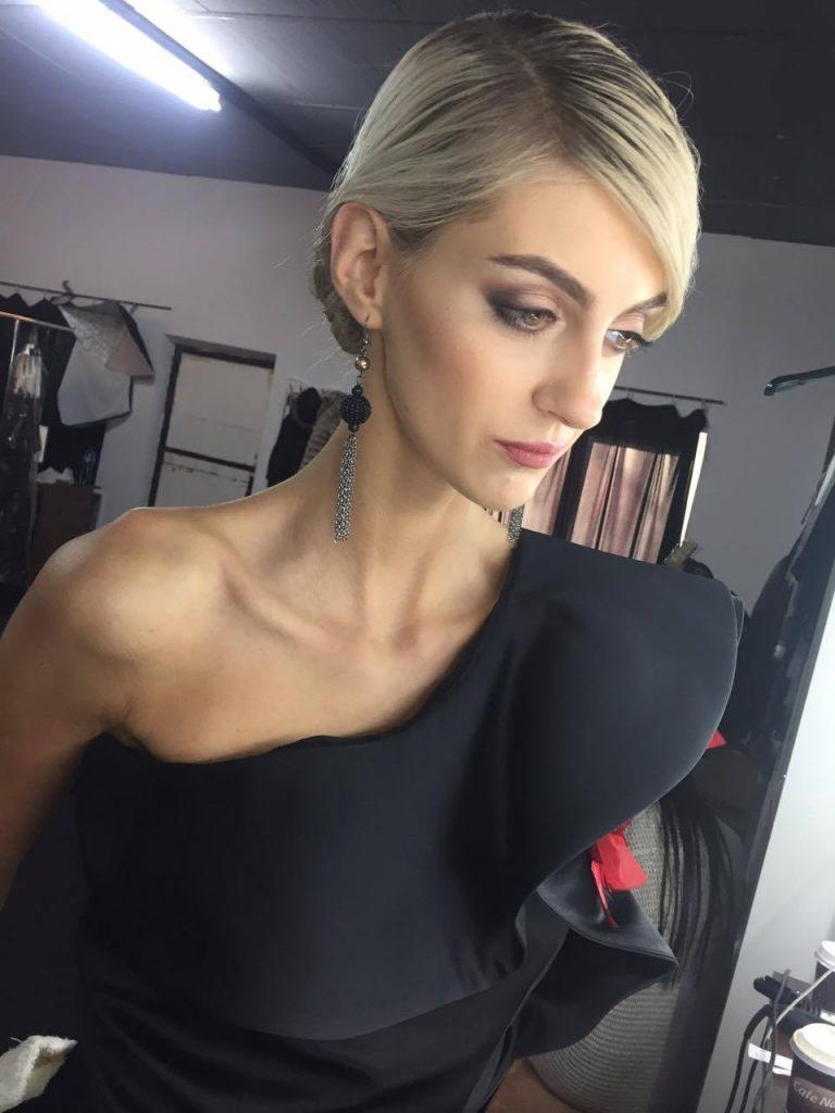 machiaj pentru restaurant, makeup artist: Georgiana Brașoveanu