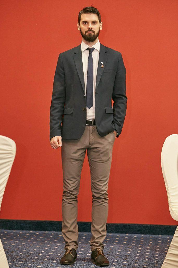 Tudor Alexandru , președinte le Clubului Rotaract Piatra Neamț, foto: Ciprian Iorgu
