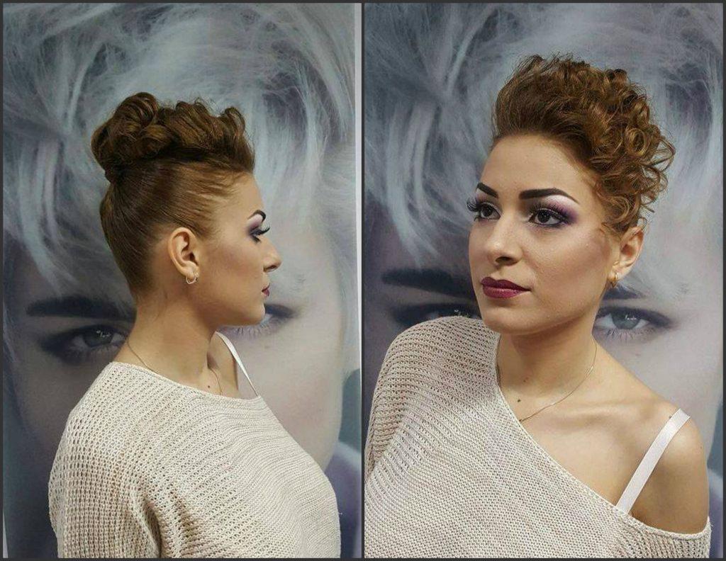 hair stylist: Tina Gafița
